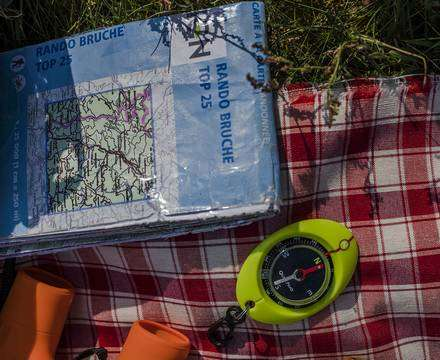 Cartes & supports de randonnée